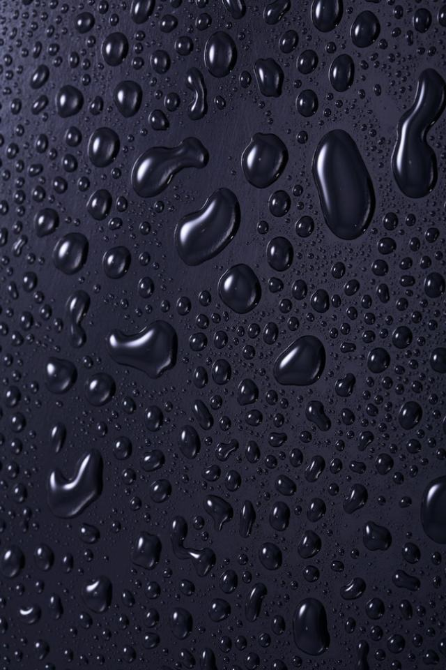 3D iPhone 5 Wallpapers with water Drop Effects (1)