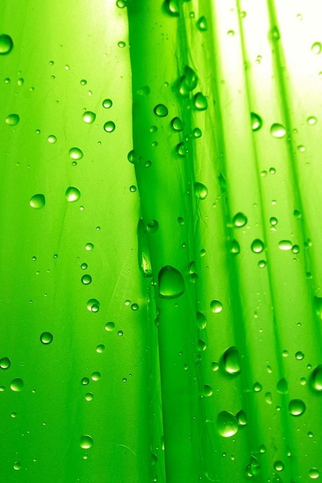 3D iPhone 5 Wallpapers with water Drop Effects (2)