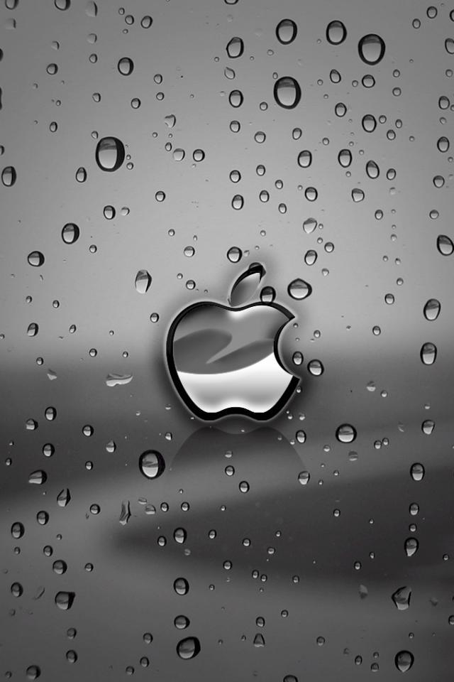 3D iPhone 5 Wallpapers with water Drop Effects (4)