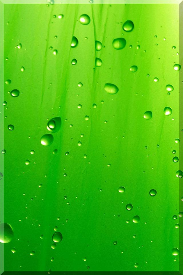 3D iPhone 5 Wallpapers with water Drop Effects (6)