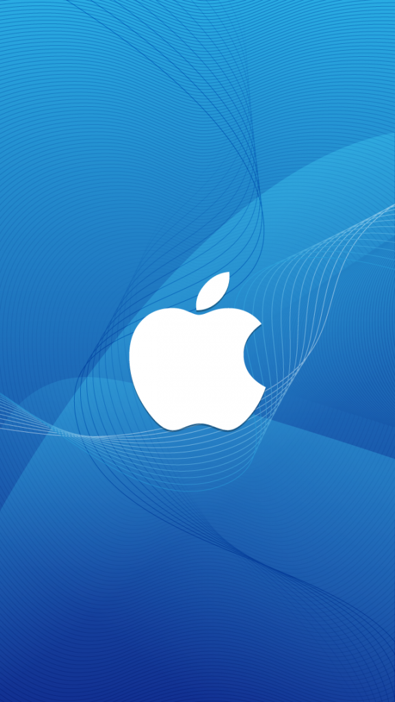 HD Abstract iPhone 5 Wallpaper - apple logo