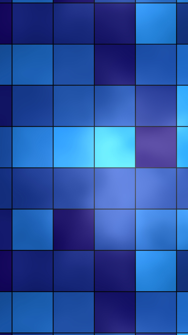 HD Abstract IPhone 5 Wallpaper  Blue Grid