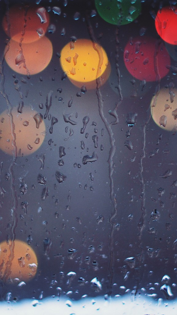 HD Abstract iPhone 5 Wallpaper- rainy light