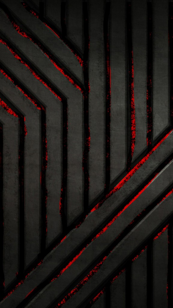 HD Abstract iPhone 5 Wallpaper - steel wall