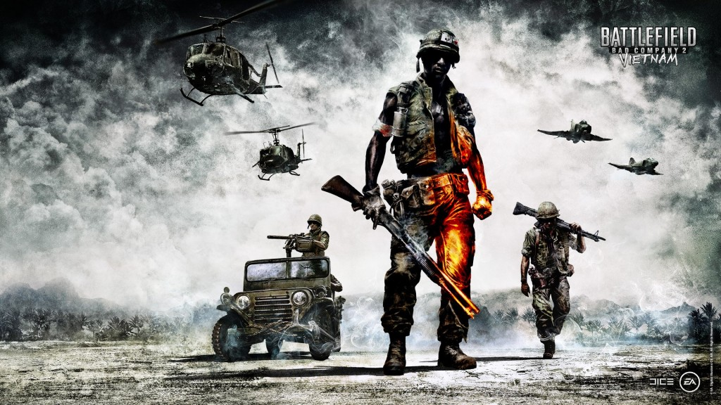 Windows 8 wallpapers for your desktop - Battlefield: Bad Company 2 - Vietnam