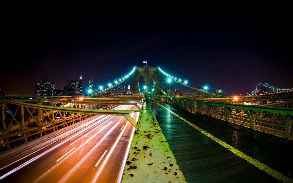 HD wallpapers for Windows 8-brooklyn_bridge_nights-wide