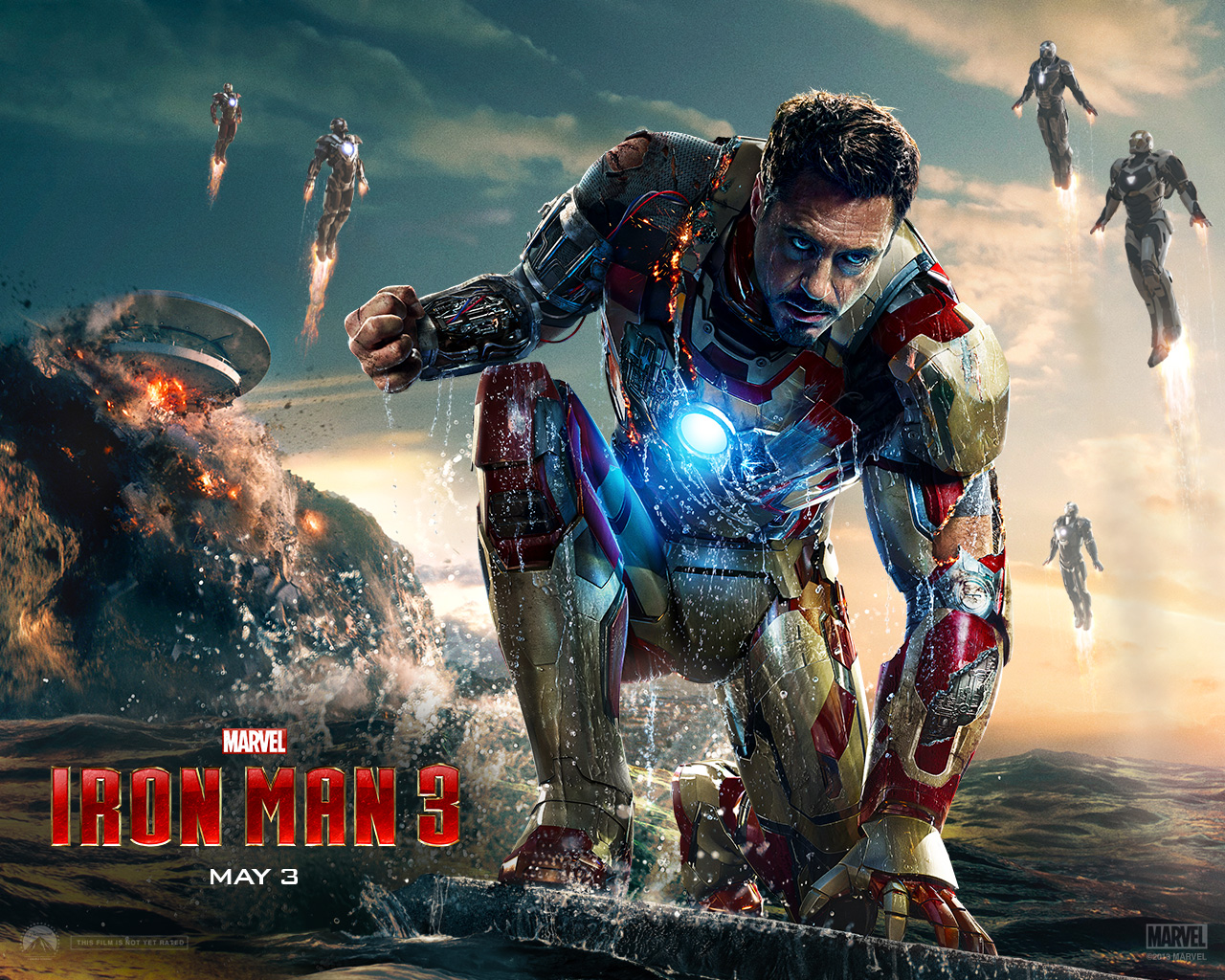 Iron Man HD Wallpapers For Pc Android Mobile & iPhone Iron Man 4k Images