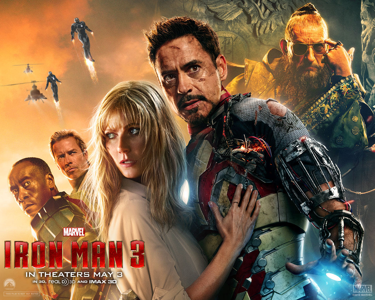 Iron Man 3 Poster HD Wallpapers