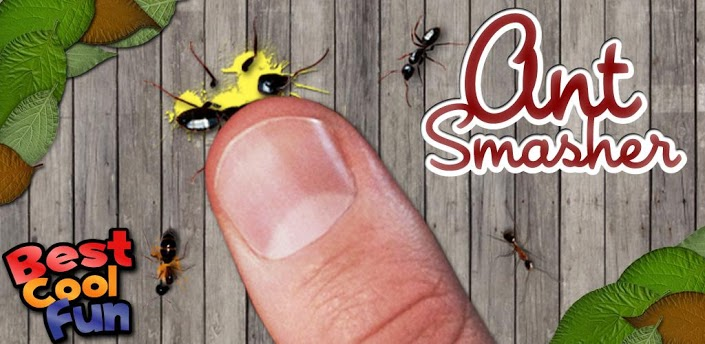 free action games for android devices- Ant Smasher