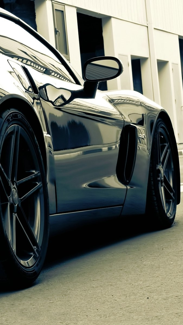 HD Sports Cars Wallpapers For IPhone 5   Corvette
