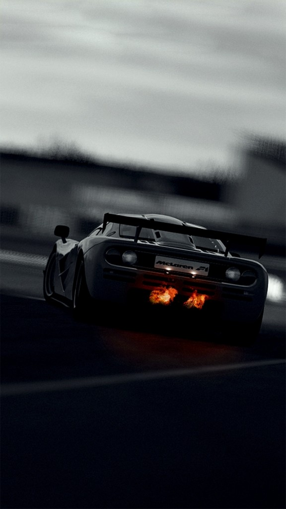 iPhone wallpaper HD- Rear Mclaren P1
