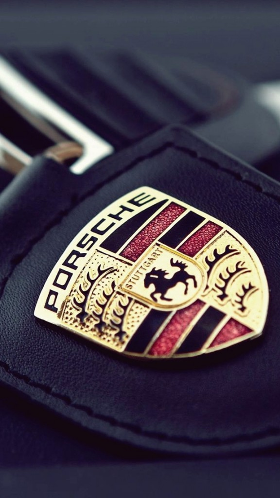 Racing cars wallpapers for iPhone 5 - Porsche Badge