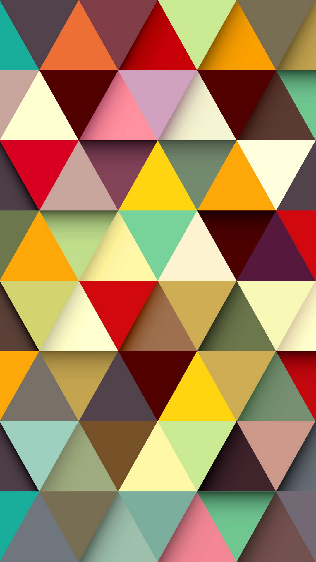 25 hd wallpapers for iphone 6 plus - Geometric wallpaper colorful ...