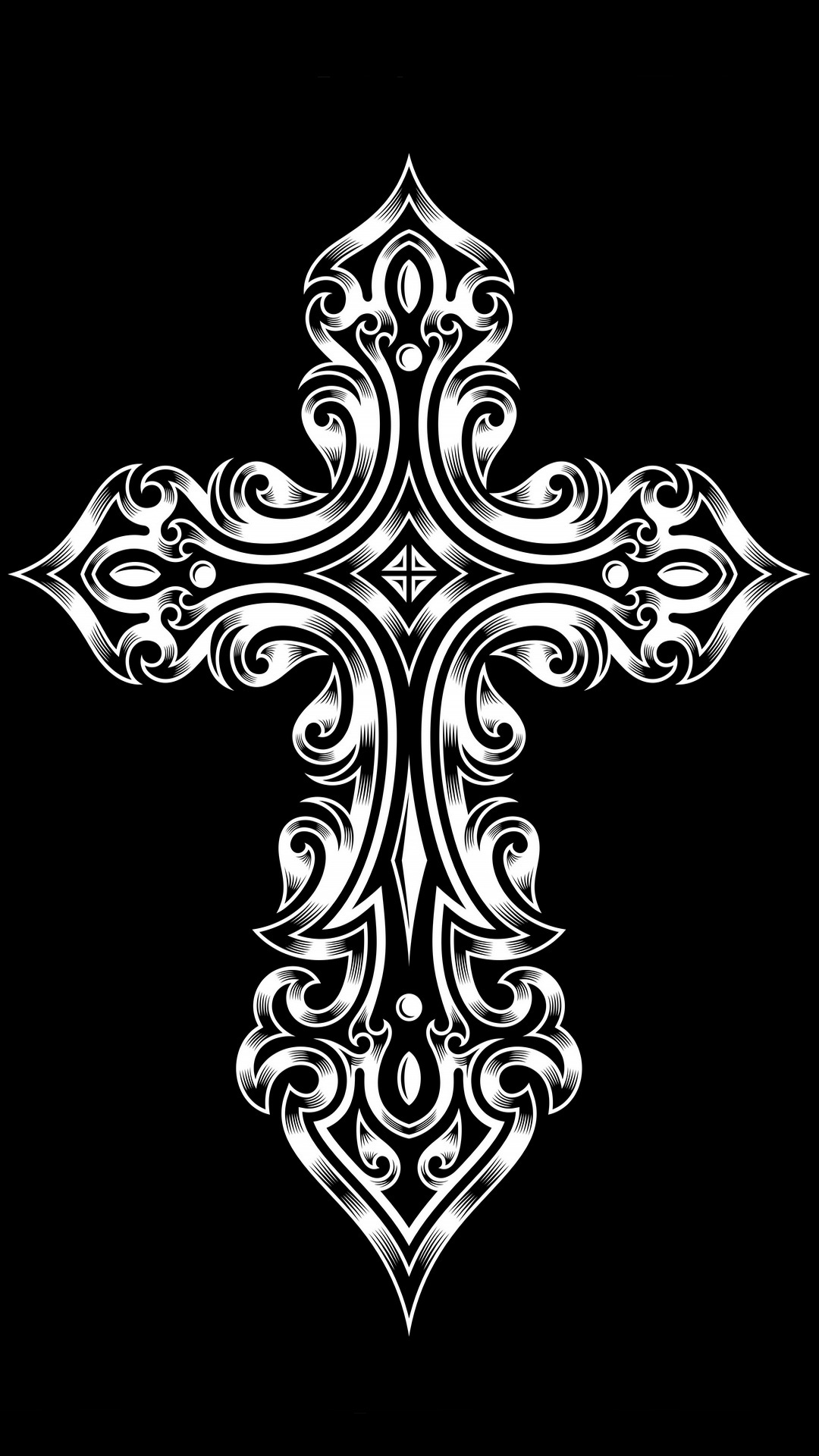 tribal cross wallpaper by - photo #37