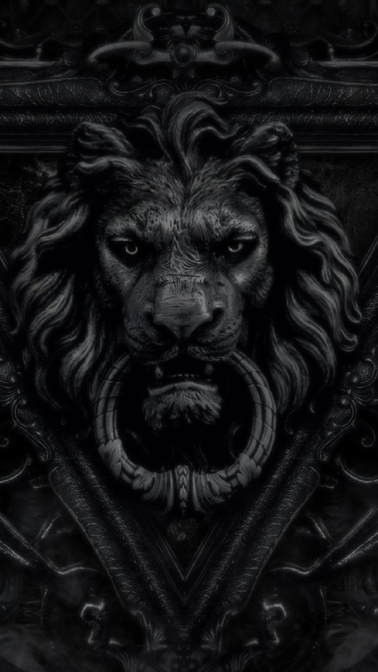 dark gothic lion wallpaper - photo #2