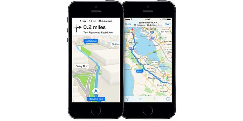 Apple Maps - Top 5 Tech Faliures