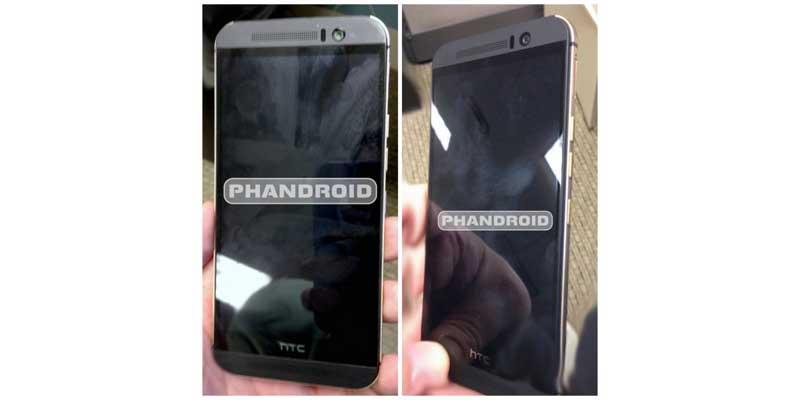 HTC One M9 Design Change