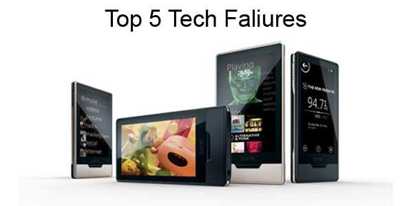 Top 5 Tech Faliures