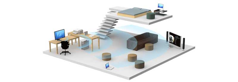 position your wireless router to improve home wifi