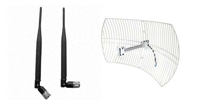 upgrading antenna increase wireless signal