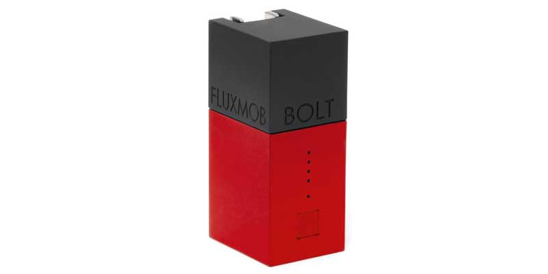 Fluxmob Bolt Battery + Charger - Best Power Banks of 2015