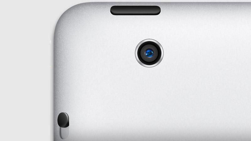 iPad 4 Camera