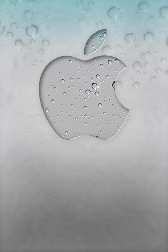 3D iPhone 5 Wallpapers with water Drop Effects (18)