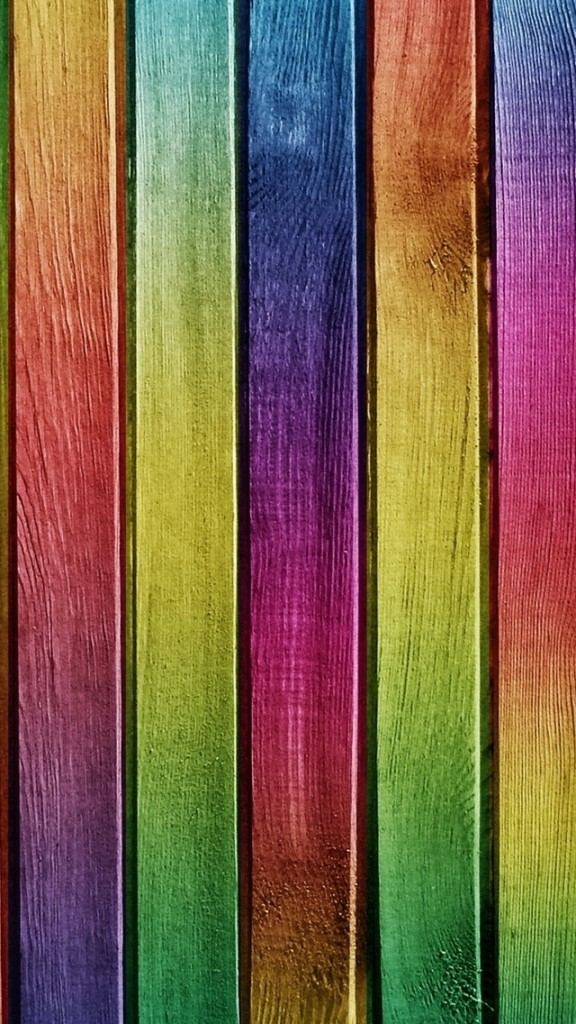 HD Abstract iPhone 5 Wallpaper(colorful wood)