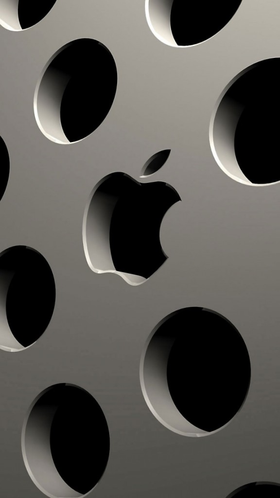 HD Abstract iPhone 5 Wallpaper- apple mac