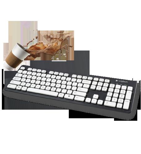 Logitech Waterproof Keyboard