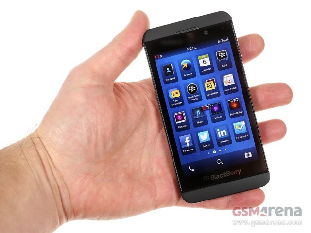Blackberry z10 apps and other features