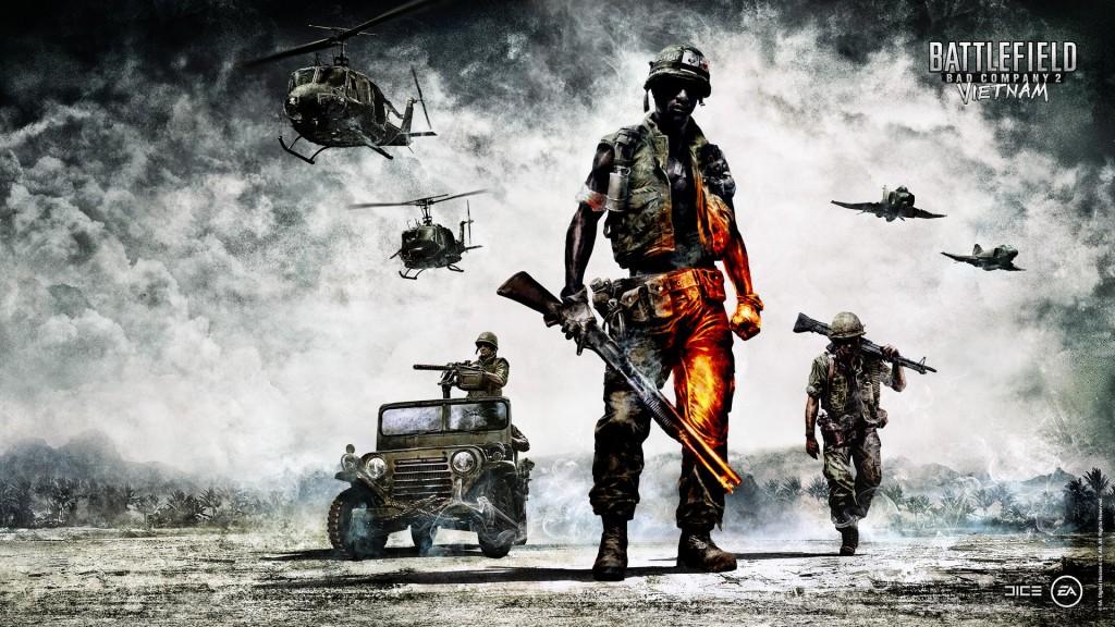 Windows 8 wallpapers for your desktop - Battlefield: Bad Company 2 - Vietnam