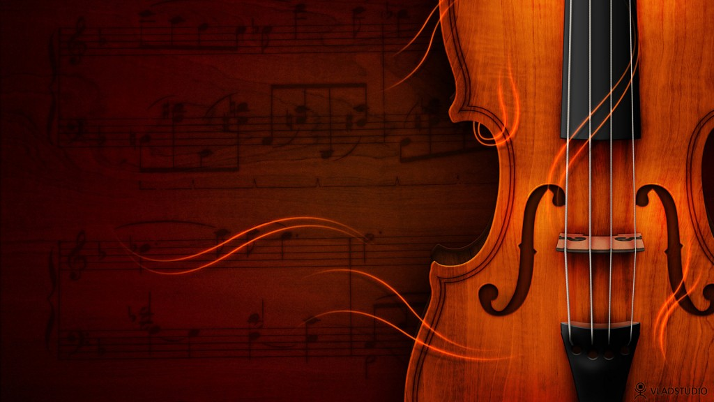 HD wallpapers for Windows 8-violin
