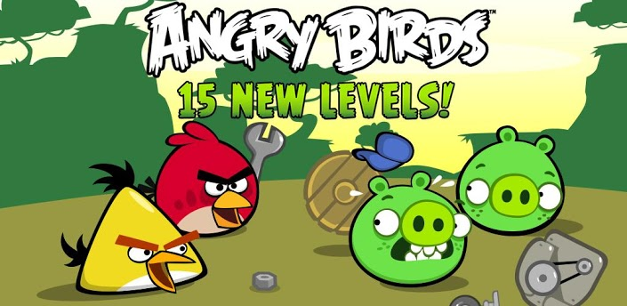 free action games for android devices- Angry Birds