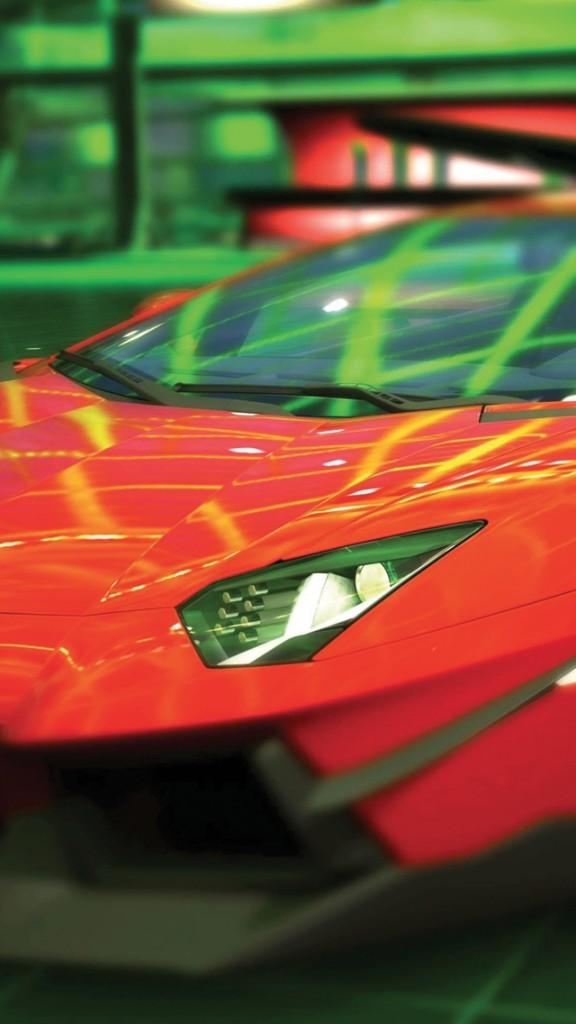 Lamborghini Aventador LP700 HD wallpaper for iPhone 5