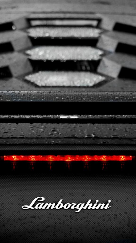 Racing cars wallpapers HD - Rear Lamborghini