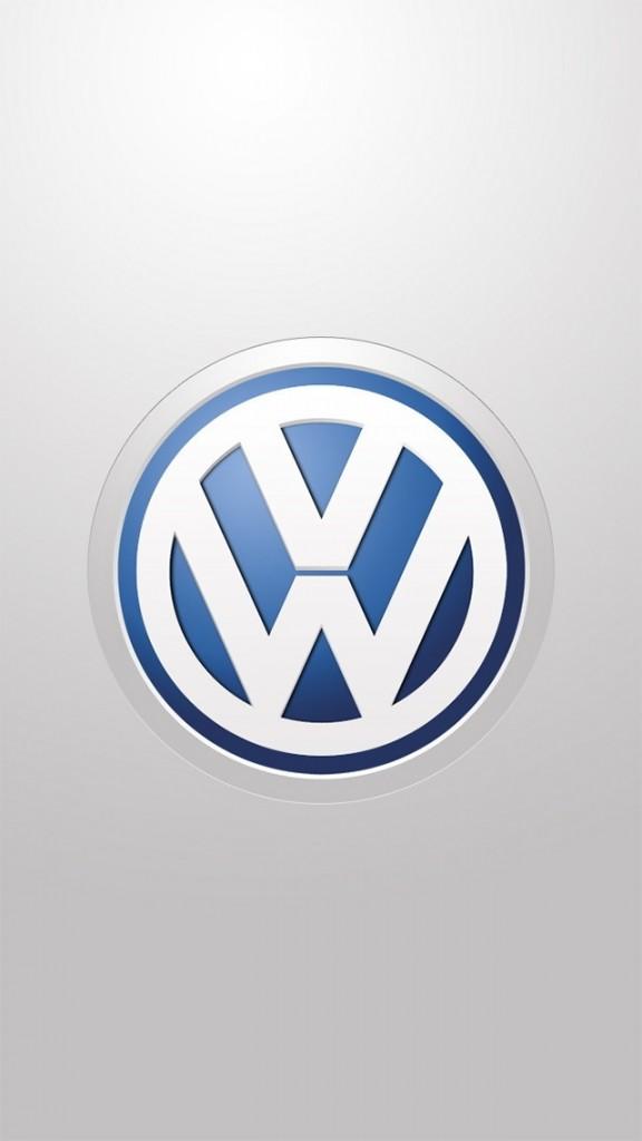 wallpapers for iPhone 5 - Volkswagen Logo