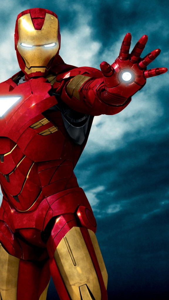 Iron Man 3 HD Wallpapers Free  for iPhone 5 Download Iron Man Ready To Attack