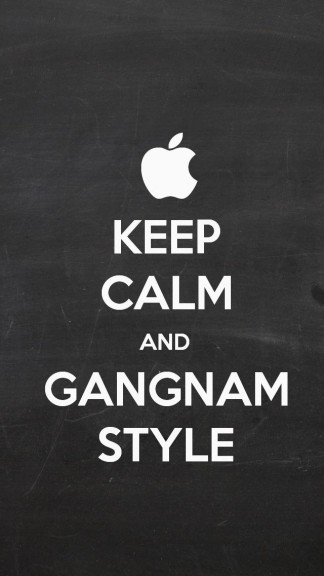 Keep Calm and Gangam Style - HD Keep calm Wallpapers for iPhone 5