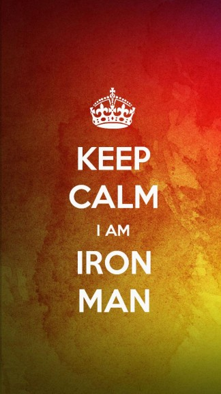 Keep calm I am Iron Man - HD Keep calm Wallpapers for iPhone 5