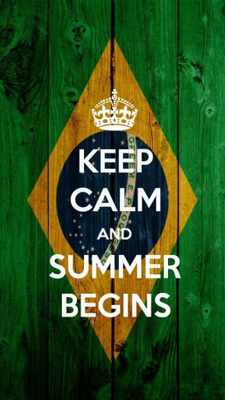 Keep calm and summer Begins - HD Keep calm Wallpapers for iPhone 5