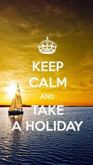 Keep calm and take a Hioliday - HD Keep calm Wallpapers for iPhone 5