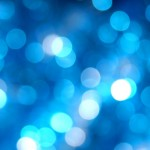 Shiny Blue Dots - Cool Wallpapers for desktop Background