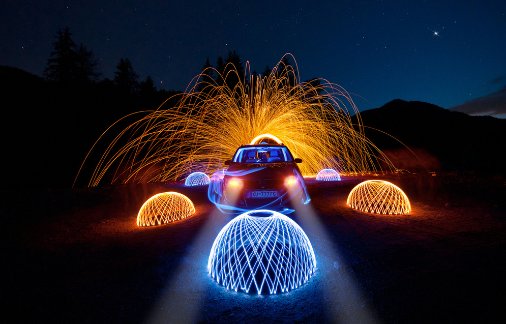 design - Light Painting Photography