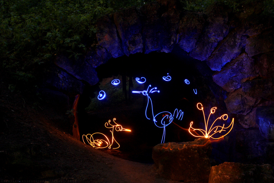 night painting - Light Painting Photography