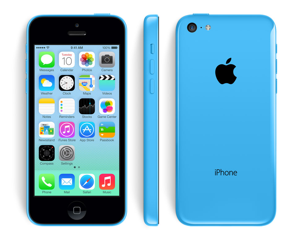 Apple iPhone 5c Announced in different colors
