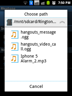 android notification ringtone 6