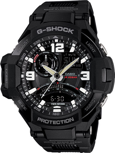 Casio-GA-1000FC-1AJF - Top 5 WaterProof Watches of 2014 by Casio
