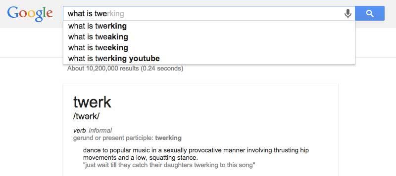 google-twerking