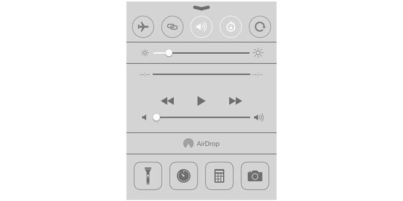 Control Centre - Top iOS 9 Features